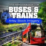 Buses and Trains RF Photos for all your Websites and Projects