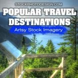 Popular Travel Destinations RF Photos for all your Websites and Projects