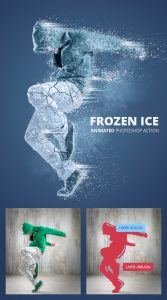 Animated Frozen Ice