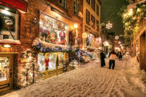 Old Quebec City District Alley - stock photos and royalty-free images