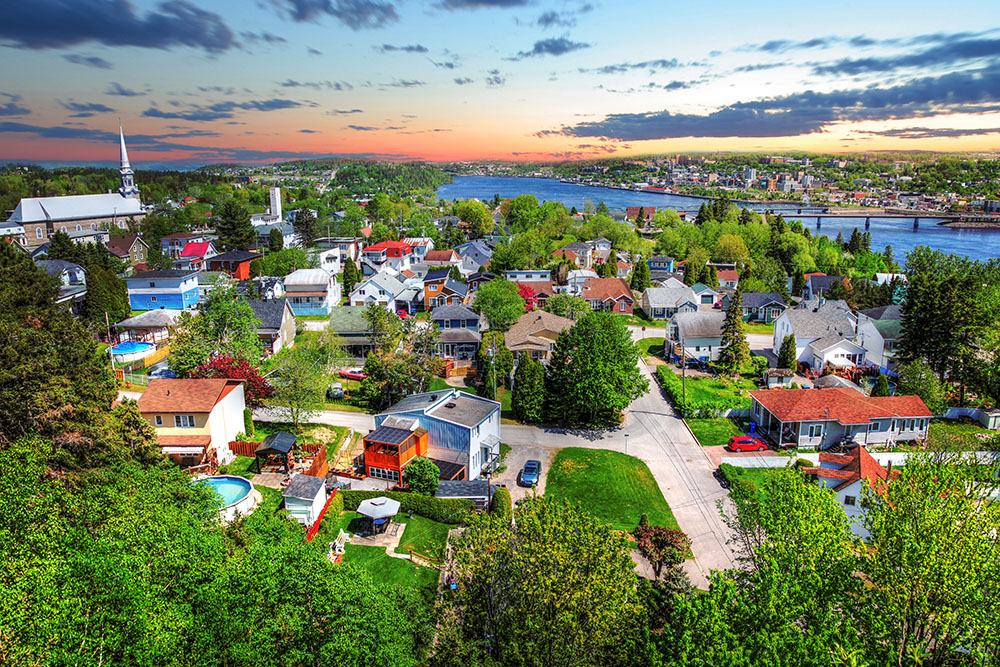 Saguenay City - stock photos and royalty-free images