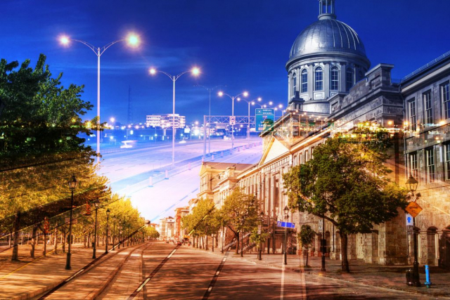 Bonsecour Market in Montreal - stock photos and royalty-free images
