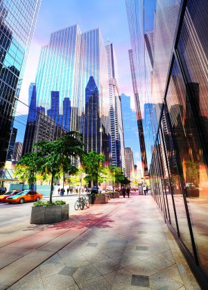 Downtown Office Street 3 - stock photos and royalty-free images