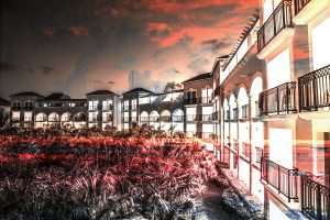 Hotel Resort Photo Montage 02
