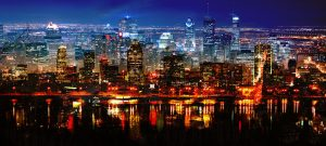 Montreal City in Double - stock photos and royalty-free images