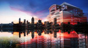 Urban Residence Photo Montage - stock photos and royalty-free images