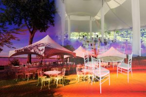 Celebration Tent Photo Montage - stock photos and royalty-free images