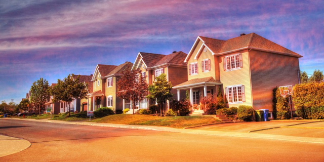Cozy Neighborhood 02 - stock photos and royalty-free images