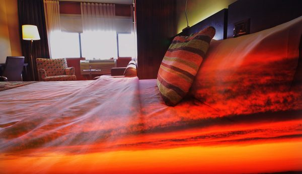 Sunset Bed Cover 1 - stock photos and royalty-free images