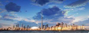 Toronto City Daytime Skyline