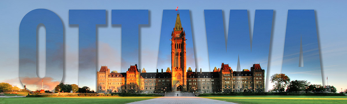 Federal Parliament with Ottawa Text 1 - stock photos and royalty-free images
