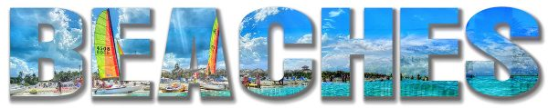 Beaches Text Photo Montage 1 - stock photos and royalty-free images