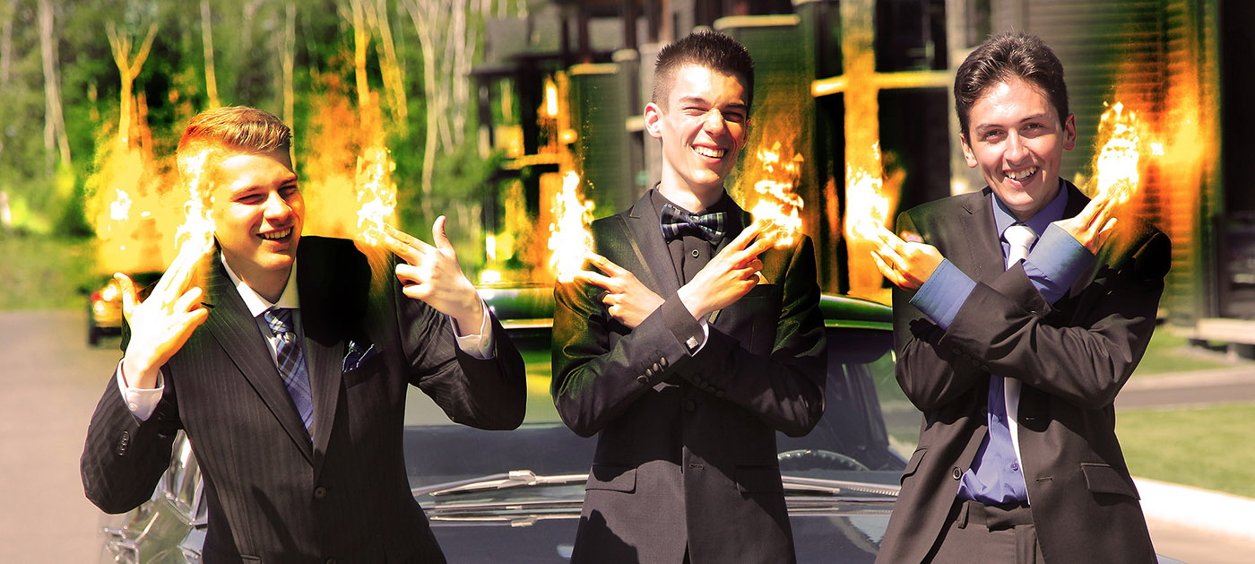 Young Men with Fingers on Fire - stock photos and royalty-free images