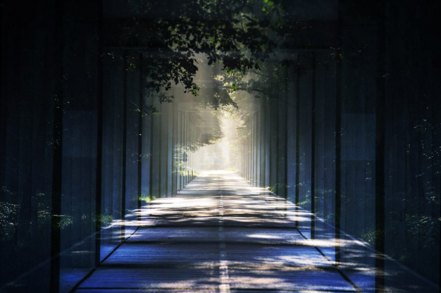 Light at the End Perspective 01 - stock photos and royalty-free images