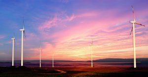 Windmills at Sunset 01 - stock photos and royalty-free images