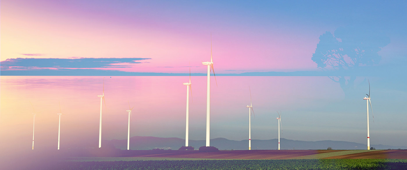 Windmills at Sunset 02 - stock photos and royalty-free images