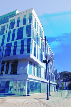 Street Corner Office Building 01 - stock photos and royalty-free images