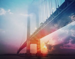 Surreal Suspension Bridge 01 - stock photos and royalty-free images