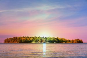 Peaceful Remote Island - stock photos and royalty-free images