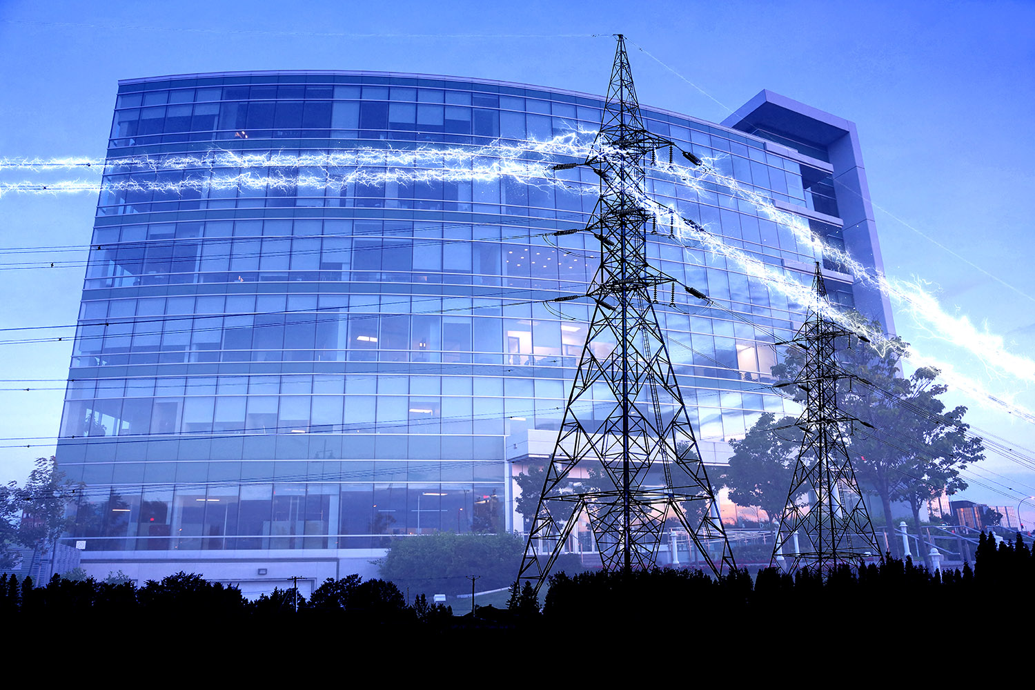 Business Electrification in Blue - stock photos and royalty-free images