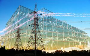 Large Construction Industry Electrification - stock photos and royalty-free images