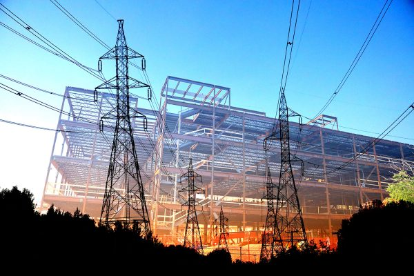 Modern Construction Industry Electrification - stock photos and royalty-free images